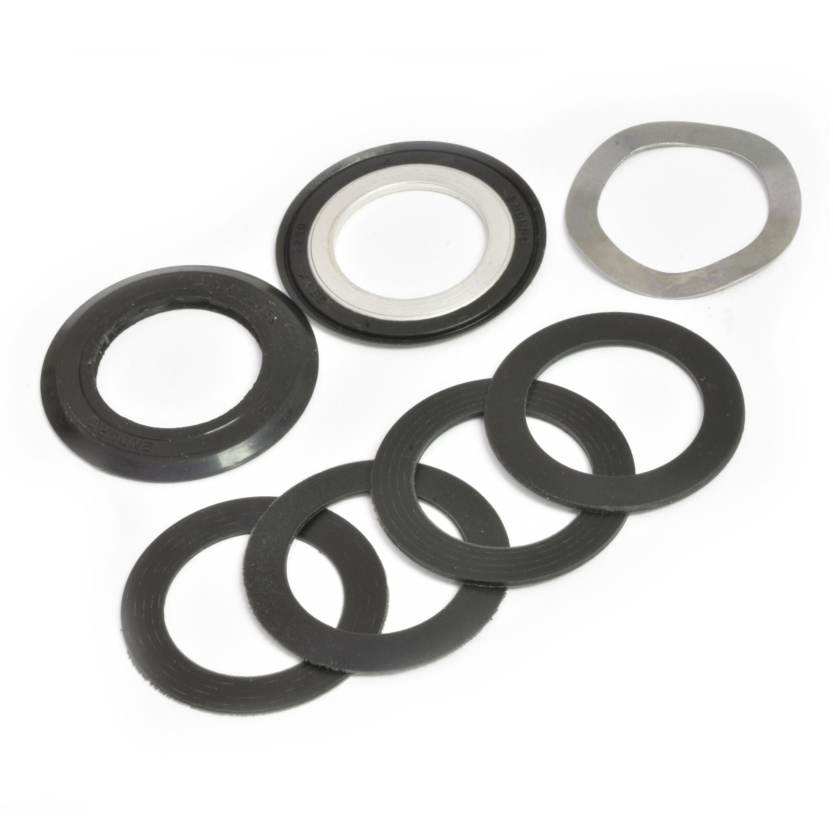 Wheels Manufacturing Inc. Repair Pack for 22/24mm (SRAM GPX) Bottom Brackets Color: Black