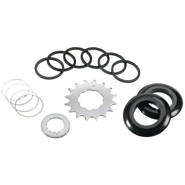 Wheels Manufacturing Inc. Shimano/SRAM Single Speed Conversion Kit Color: Black anodized