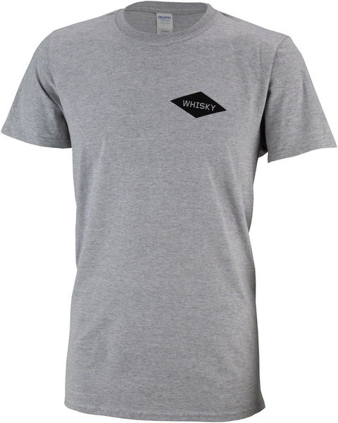 Whisky Parts Co. Get Fancy Tee Color: Sport Grey