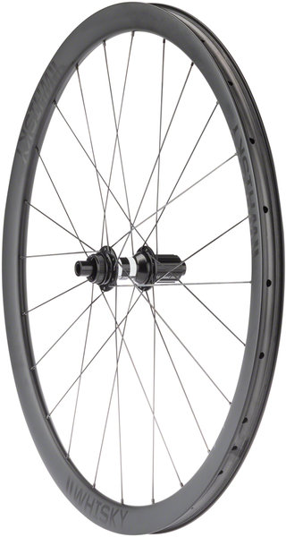 Whisky Parts Co. No. 9 GVL Rear Wheel Color: Matte Carbon