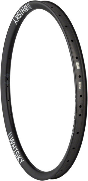"Whisky Parts Co. Whisky No.9 40w Carbon Tubeless 27.5"" Plus Rim Color: Carbon"