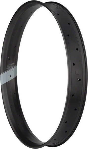 Whisky Parts Co. No.9 Fat Carbon 27.5 Rim (80mm) Color | Size | Width: Matte Carbon | 27.5-inch | 80mm