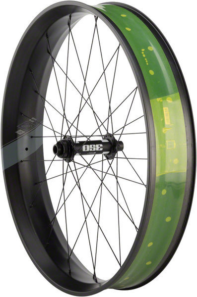 Whisky Parts Co. Whisky No.9 100w Fat Front Wheel Color: Matte Black