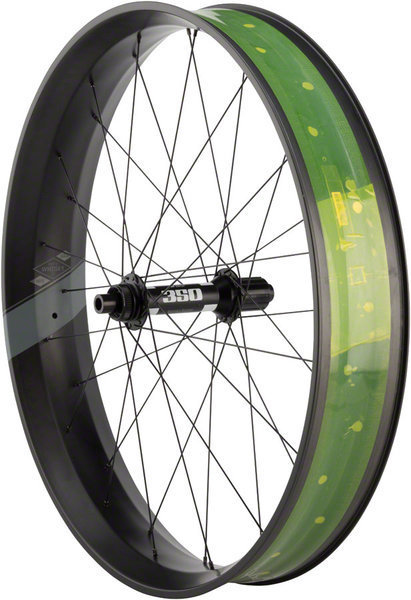 Whisky Parts Co. Whisky No.9 100w Fat Rear Wheel Color: Matte Black
