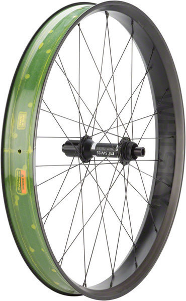 Whisky Parts Co. Whisky No.9 70w Fat Rear Wheel Color: Matte Black