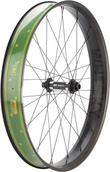 Whisky Parts Co. Whisky No.9 80w Fat Front Wheel Color: Matte Black
