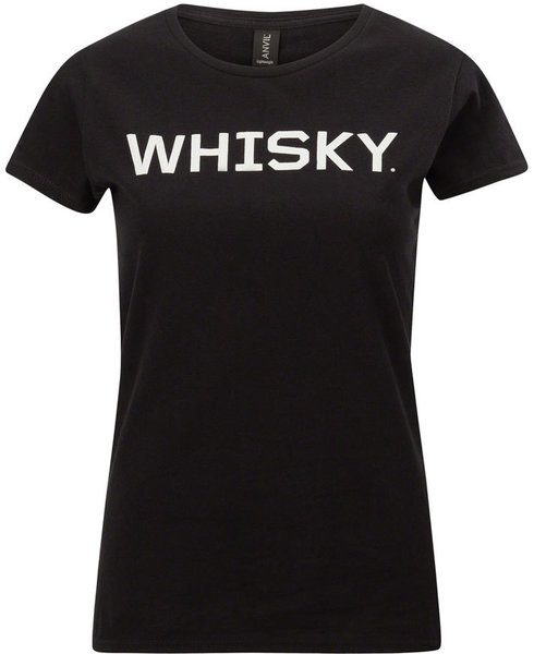 Whisky Parts Co. Women's Logo T-Shirt Color: Black/Gray