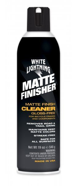 White Lightning Matte Finisher Size: 19oz