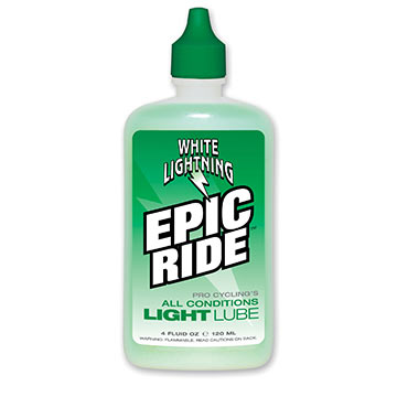 White Lightning Epic Ride Size: 4-ounce drip