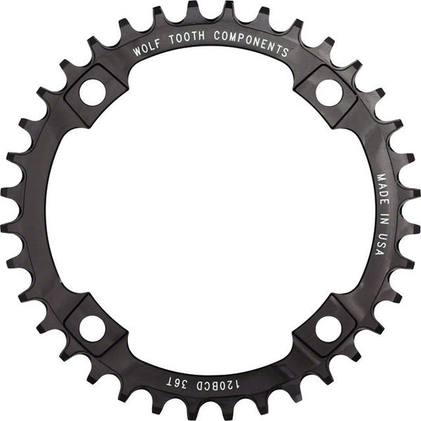 Wolf Tooth Components 120 BCD Chainrings Color: Black