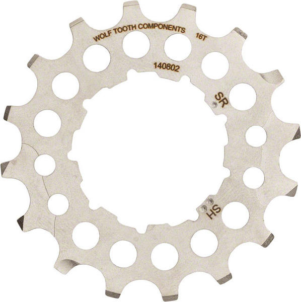 Wolf Tooth Components 16 Tooth Cog Color: Silver