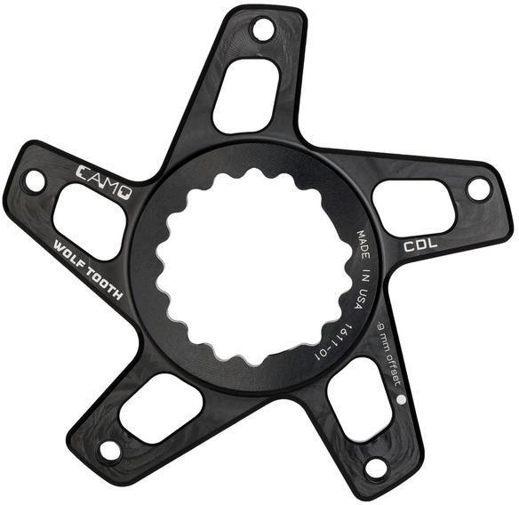 Wolf Tooth Components CAMO Direct Mount Spider for Cannondale Offset: M9 Standard for 49mm chainline