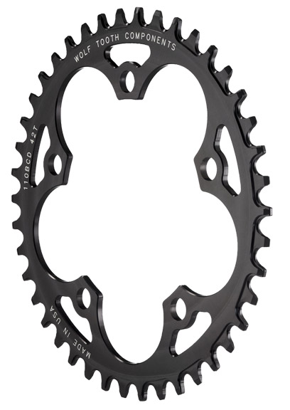 Wolf Tooth Components Cyclocross Chainring Diameter: 110mm