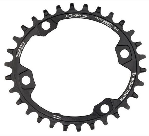 Wolf Tooth Components Elliptical 96mm BCD Chainrings for Shimano XT M8000 and SLX M7000