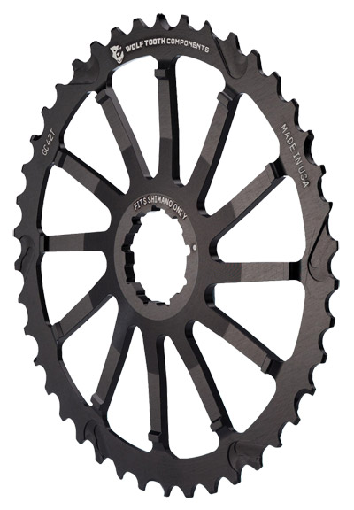 Wolf Tooth Components Giant Cog Color: Black