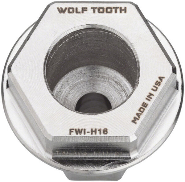 Wolf Tooth Components Pack Wrench Inserts Model: 16mm hex