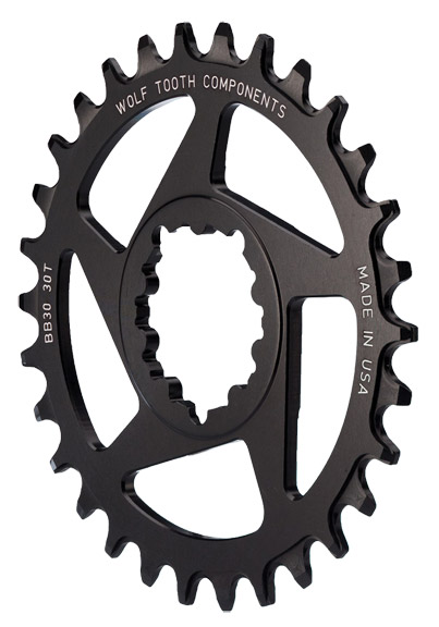 Wolf Tooth Components Direct Mount Chainrings for SRAM Cranks