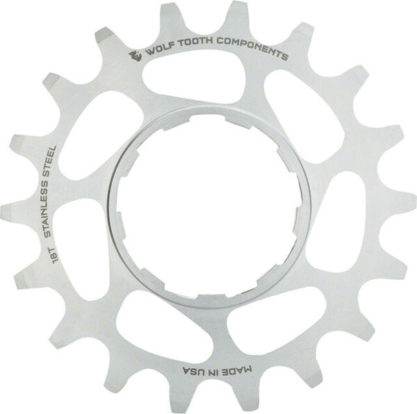 Wolf Tooth Components Stainless Steel Singlespeed Cog