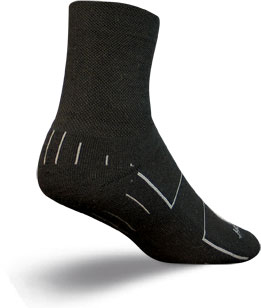 SockGuy Wooligan Socks Color: Black
