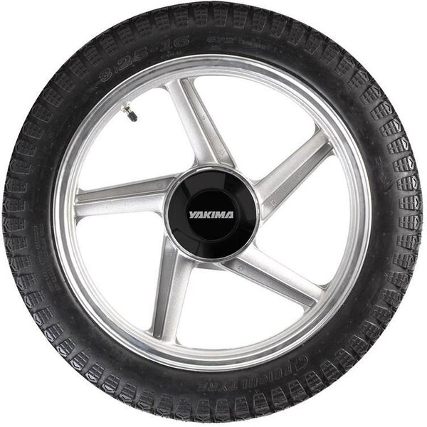 Yakima 5-Spoke Spare Tire Color: Silver/Black