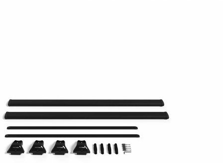 Yakima 54-inch SL Hard Top Track Kit Color: Black