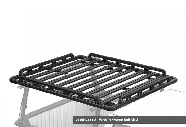 Yakima LockNLoad Platform J, 76x65 (3-bar system) Color: Black