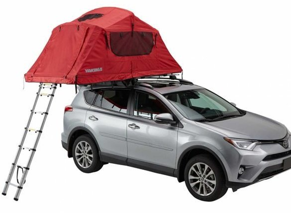 Yakima SkyRise Tent Color: Red