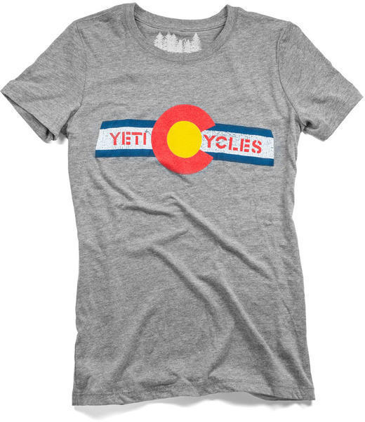 Yeti Cycles CO Flag Ride Jersey Tee - Women's
