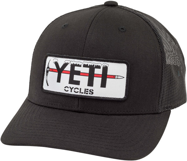 Yeti Cycles Ice Axe Patch Trucker Hat Snapback