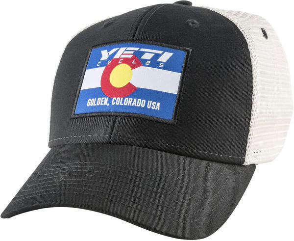 Yeti Cycles CO Flag Trucker Hat - ProCycing