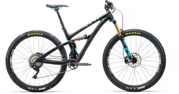 Yeti Cycles SB4.5 Shimano XT TURQ Pedals sold separately