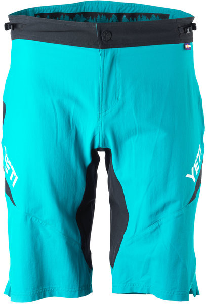 Yeti Cycles Women's Enduro Short Color: Turquoise