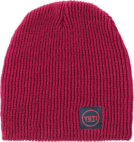 Yeti Cycles Yeti Button Slouchy Beanie Color: Berry