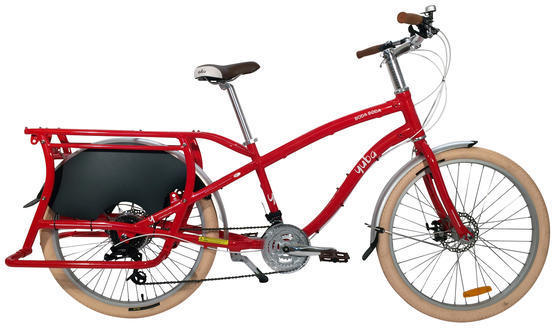 Yuba Boda Boda V3 Color | Model: Red | Step-Over