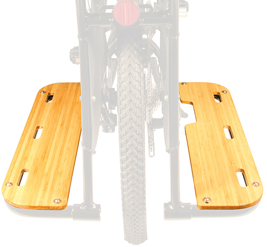 Yuba Boda Boda V3 Bamboo Running Boards Color: Natural