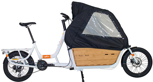 Yuba Cargo Canopy Color: Black