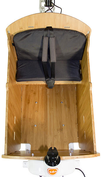 Yuba Bamboo Box Seat Kit Supermarché