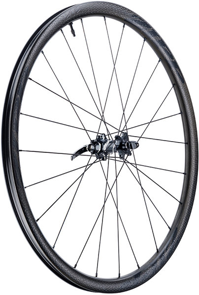 Zipp 202 Firecrest Carbon Clincher Tubeless Disc Brake 700c Front Color: Black w/Black Decal