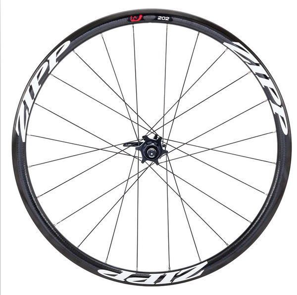 Zipp 202 Firecrest Carbon Disc Brake Front Wheel (Clincher)