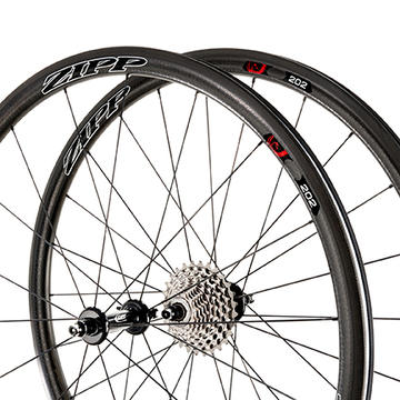 Zipp 202 Firecrest Carbon Front Wheel (Clincher) Price listed is for front wheel only.