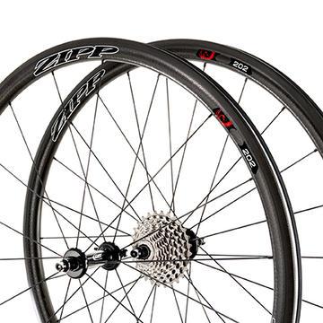Zipp 202 Firecrest Carbon Front Wheel (Clincher)