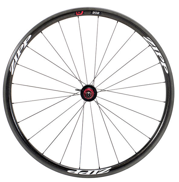 Zipp 202 Firecrest Carbon Rear Wheel (Clincher) Color: Matte White