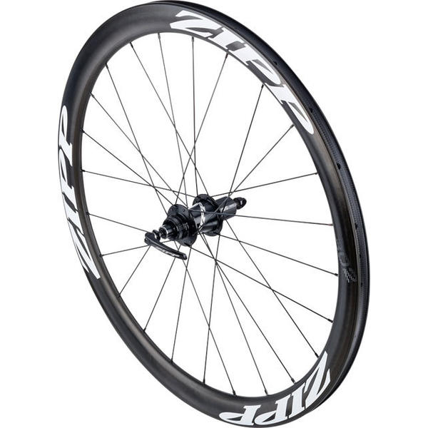 Zipp 302 Carbon Clincher Disc Brake 700c Rear Color: Black w/White Decals