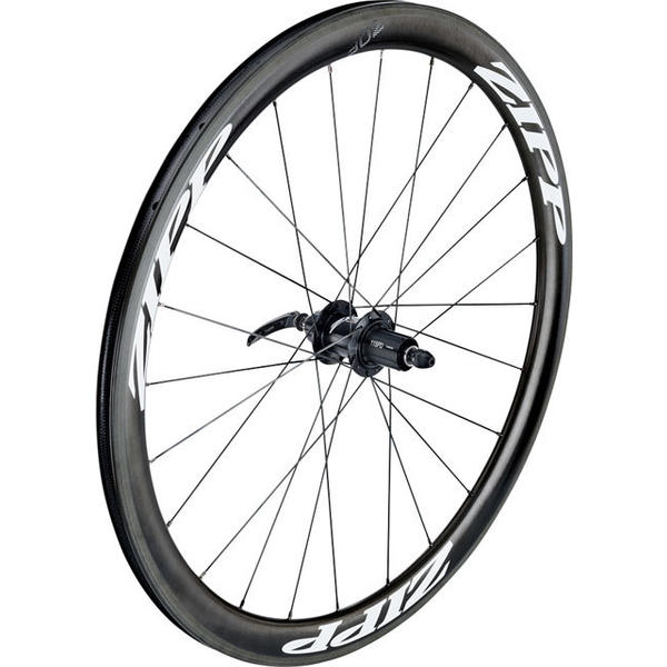 Zipp 302 Carbon Clincher 700c Rear Color: Black w/White Decals