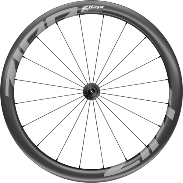 Zipp 302 Carbon Tubeless Front Color: Black