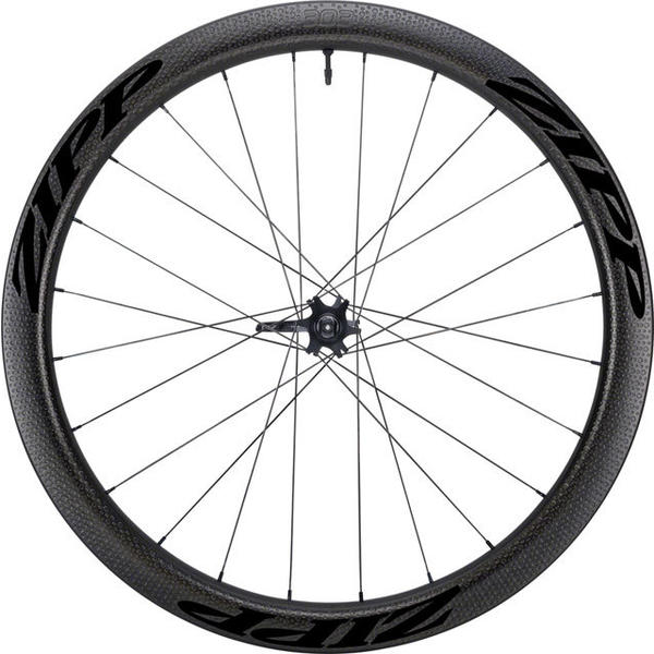 Zipp 303 Firecrest Carbon Clincher Tubeless Disc Brake 650b Front Color: Black w/Black Decal