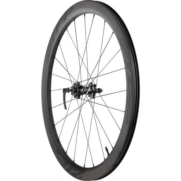 Zipp 303 Firecrest Carbon Clincher Tubeless Disc Brake 700c Front Color: Black w/Black Decal