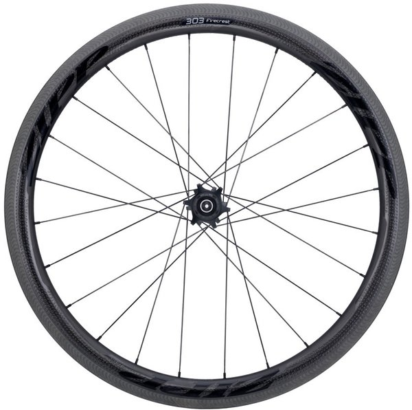 Zipp 303 Firecrest Carbon Clincher Rim-Brake Rear Wheel Color: Black