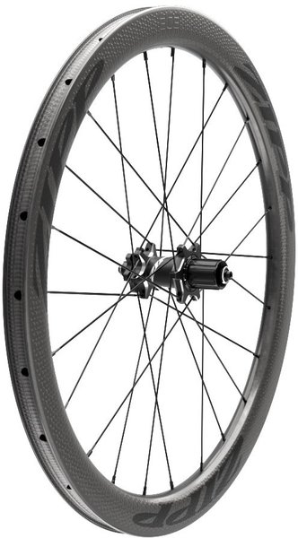 Zipp 303 Firecrest Carbon Clincher Tubeless Disc Brake 650b Rear Color: Black w/Black Decals