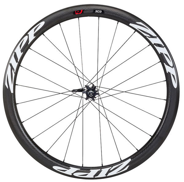 Zipp 303 Firecrest Carbon Disc Brake Front Wheel (Clincher) Color: Matte White